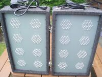DISCO LIGHTS LED SET SOUNDLAB 8s WITH BUILT IN CONTROLLER- VERY RARE - BUY NOW