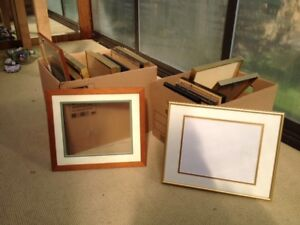 Picture frames - assorted - for pictures, diplomas, degrees