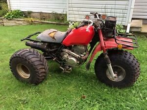 1985 Honda 250 Big Red Part Trike (First $150 Takes It)Trades?