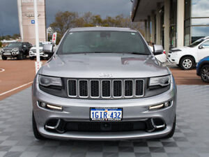 2014 Jeep Grand Cherokee WK MY15 SRT Silver 8 Speed Sports Automatic Wagon
