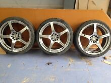 Mag wheels and tyres for celica Bayswater Knox Area Preview