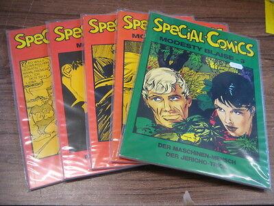 Special Comics 1-5 - Top Zustand - Modesty Blaise 1-3 und andere - 1. Auflage