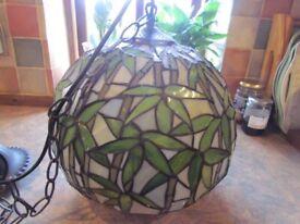 Tiffany style pendant light shade