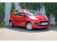 Peugeot 107 1.0 12v Active PETROL MANUAL 2012/12