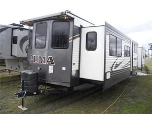 2017 Puma 39BHT 2 bedroom Park model Trailer - 3 power slideouts Stratford Kitchener Area image 2
