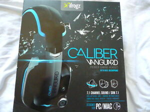iFrogz CAL-VANGAU Caliber Vanguard Premium Gaming Headphones wit