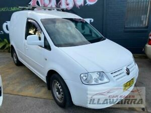 2008 Volkswagen Caddy 2K Life White 6 Speed Direct Shift Wagon Barrack Heights Shellharbour Area Preview