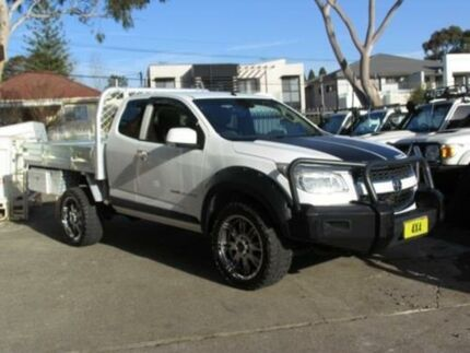 2013 Holden Colorado RG MY14 LX (4x4) White 6 Speed Automatic Spacecab Roselands Canterbury Area Preview