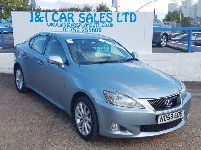 LEXUS IS 2.2 220D SE-I 4d 175 BHP (blue) 2009