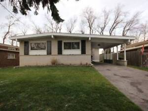Newly modernized 3 Bedroom bungalow for lease with pot lights