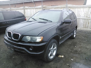 BMW X5 (2001/2006/ FOR PARTS PARTS ONLY)