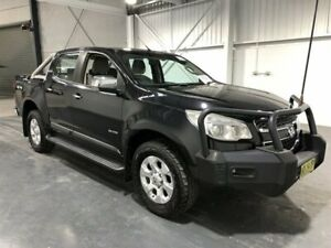 2012 Holden Colorado RG LTZ (4x4) Black 6 Speed Automatic Crew Cab Pickup Beresfield Newcastle Area Preview