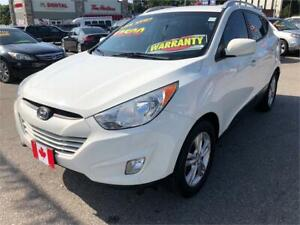 2012 Hyundai Tucson GLS LEATHER BLUETOOTH CAMERA LOW KMS.