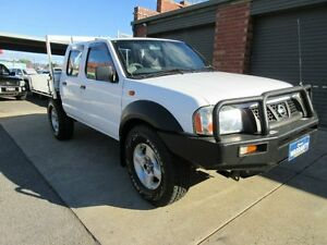 2006 Nissan Navara D22 Series 2 DX (4x4) White 5 Speed Manual 4x4 Dual Cab Pick-up Holden Hill Tea Tree Gully Area Preview