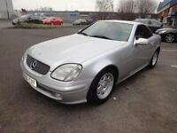 LHD 2001 Mercedes-Benz SLK 200 Kompressor 2.0 Petrol 2 Door. SPANISH REGISTERED