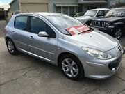 2007 Peugeot 307 T6 XSE HDI Silver 6 Speed Sports Automatic Hatchback Park Holme Marion Area Preview