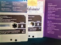 11x THE GREAT COMPOSERS AND THEIR MUSIC NO. 7, 16, 24, 27, 34, 36, 37, 40, 44, 47, 52 CASSETTE TAPES