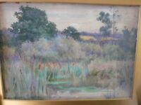 SIGNED WATER COLOUR BY G SHERIDAN KNOWLES.