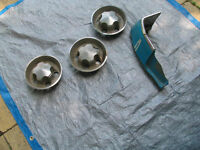 Parts for rally wheels - came from a Dodge dart Demon