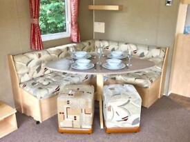 Stunning 3 bedroom caravan Dawlish Warren, Devon Nr Brixham, Torquay,Teignmouth