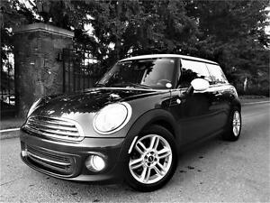 2012 MINI Cooper Low Km Certified Mint Must See $13,995.00