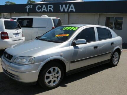 2001 Holden Astra TS City Silver 4 Speed Automatic Hatchback