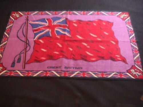 GREAT BRITAIN FLANNEL FLAG TOBACCO FACTORY PREMIUM