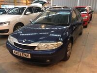 2002 RENAULT LAGUNA 1.8 PETROL MANUAL EXPRESSION GOOD DRIVE CHEAP CAR MOT BLUE NOT MONDEO PASSAT