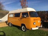 VW T2 Bay Camper Van 6 berth Super Viking 1976 (T25, Danbury, Westfalia, T4)