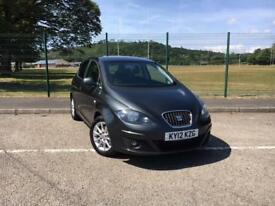 Seat Altea 2.0TDI CR SE 2012 MODEL *FULL SERVICE HISTORY, NEW MOT & SERVICE JULY
