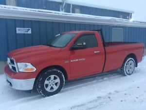2012 Ram 1500 SLT 4x2 Regular Cab 140 in. WB