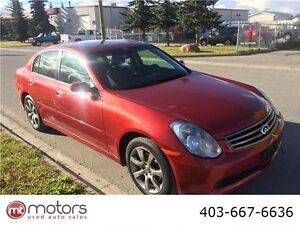 2005 infiniti g35x loaded low km fully inspected ready to roll