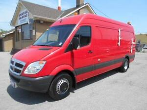 2009 DODGE Sprinter Fiber Splice Van 1Ton Dually High Roof 114Km
