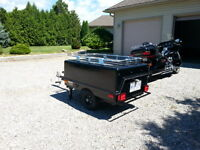 Freedom Motorcycle Tent Trailer