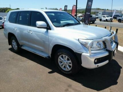 2012 Toyota Landcruiser VDJ200R MY12 GXL Silver Pearl 6 Speed Sports Automatic Wagon Atherton Tablelands Preview