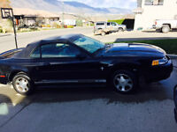 2001 Ford Mustang Convertable Coupe (2 door)
