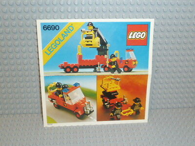 LEGO® Classic Town Bauanleitung 6690 Snorkel Pumper instruction B1025