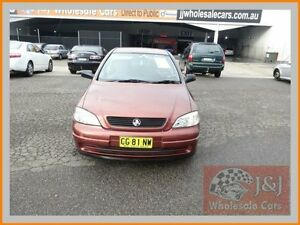 2000 Holden Astra TS CD Burgundy 4 Speed Automatic Sedan Warwick Farm Liverpool Area Preview