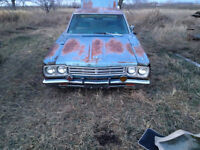 69 plymouth satelite 383 4 dr with tow package for parts