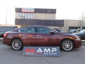 2011 Nissan Maxima FWD 3.5L LEATHER SUNROOF HEATED SEATS! RIMS