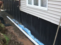 Excavation Services, Drain Tile and Basement Waterproofing
