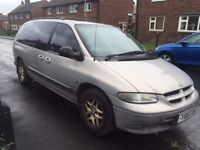 2001 CHRYSLER GRAND VOYAGER - LPG CONVERTED - LONG MOT