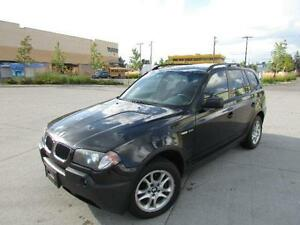 2004 BMW X3 2.5I *LEATHER,PANORAMIC SUNROOF,LOADED!!!*