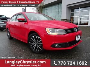 2014 Volkswagen Jetta 1.8 TSI Highline W/ LEATHER, SUNROOF &...
