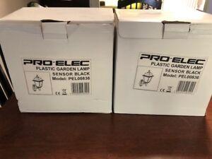 2 Pro-Elec Outdoor Light Fixtures