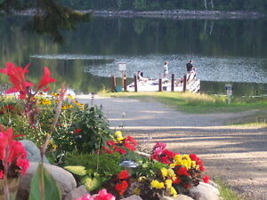 105 acres resort 1308' on Trout lake near Noelville French River