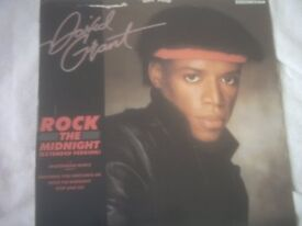 Vinyl 12in Rock The Midnight Extended Version / David Grant –