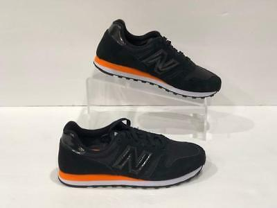 NEW BALANCE 373 Black Suede Trainers ML373MB  for sale  Shipping to India
