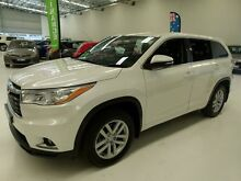 2014 Toyota Kluger GSU55R GX AWD Pearl White 6 Speed Sports Automatic Wagon Welshpool Canning Area Preview