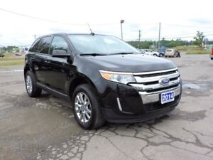 2014 Ford Edge SEL, navigation, chrome wheels & sunroof!
